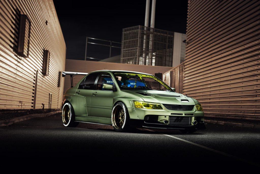 Mitsubishi Evolution widebody kit 13