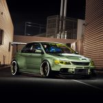 Mitsubishi Evolution widebody kit 13