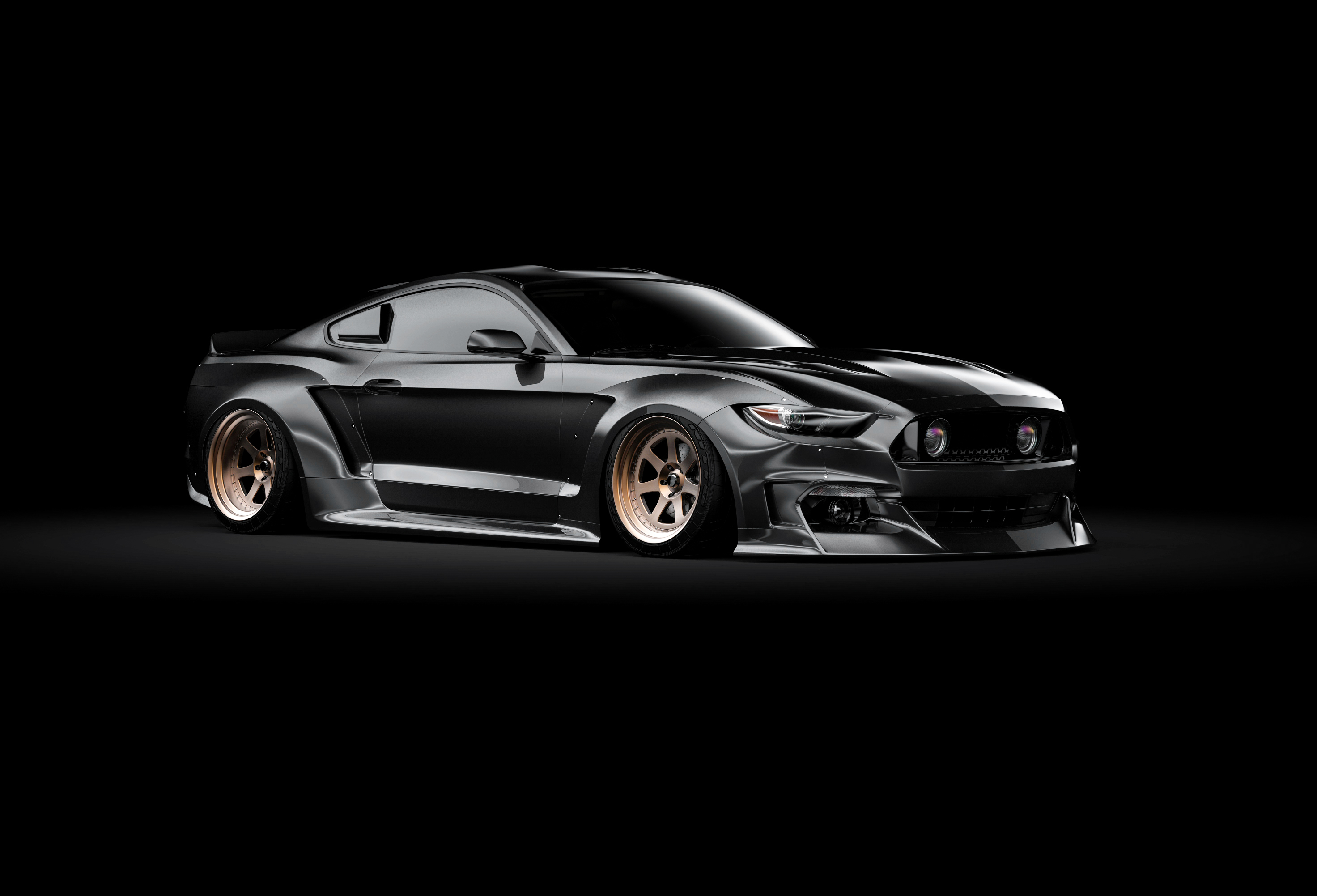 ford mustang widebody kit 7