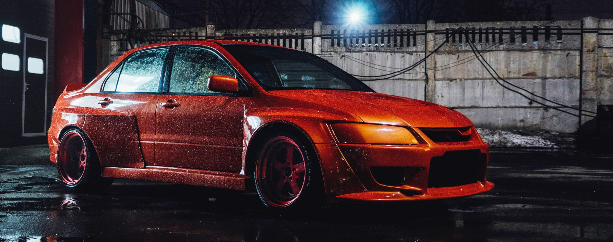 Mitsubishi Evolution widebody kit