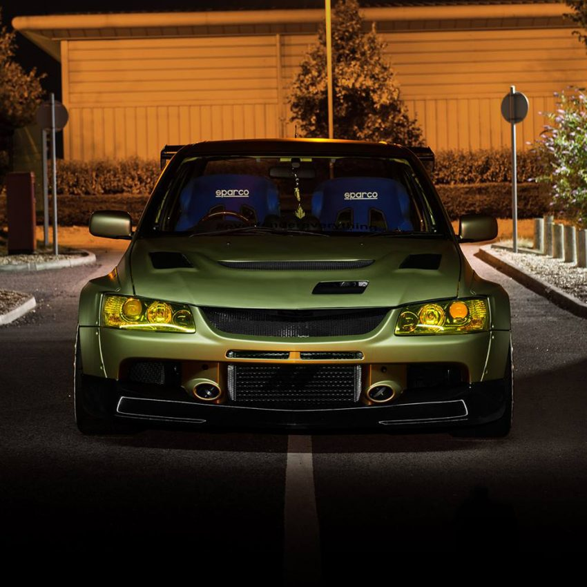 Mitsubishi Evolution widebody kit 9