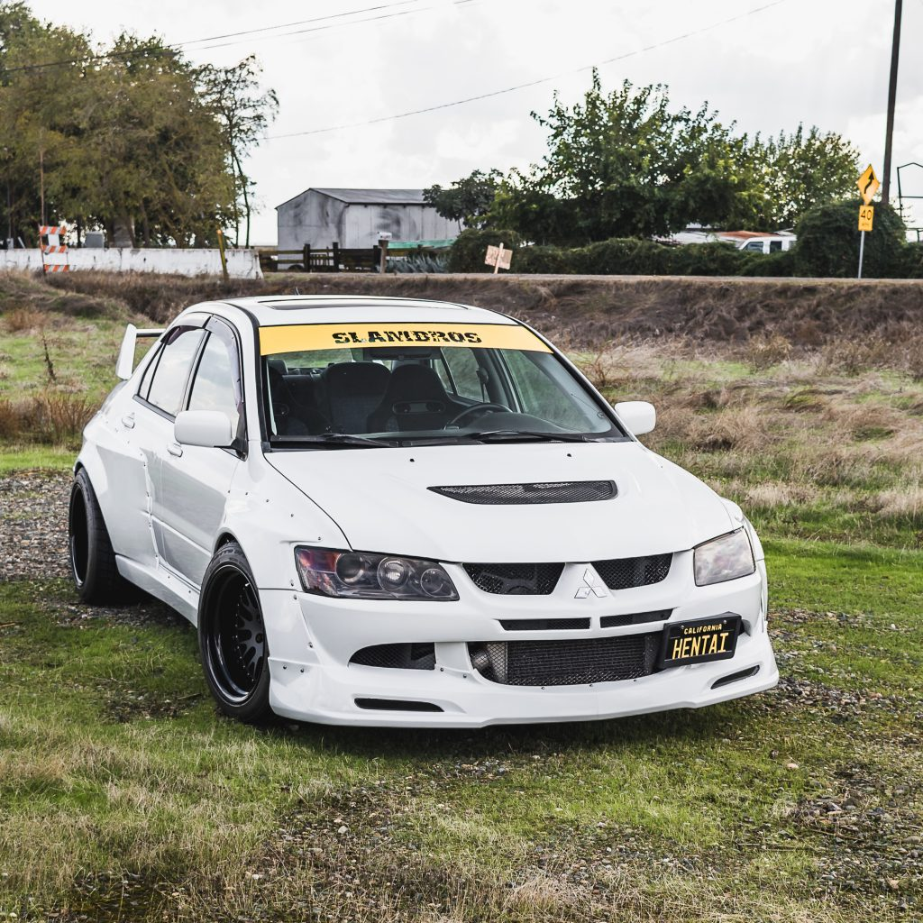 Mitsubishi Evolution widebody kit 3