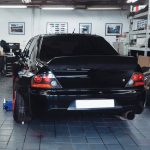 Mitsubishi Evolution widebody kit 6