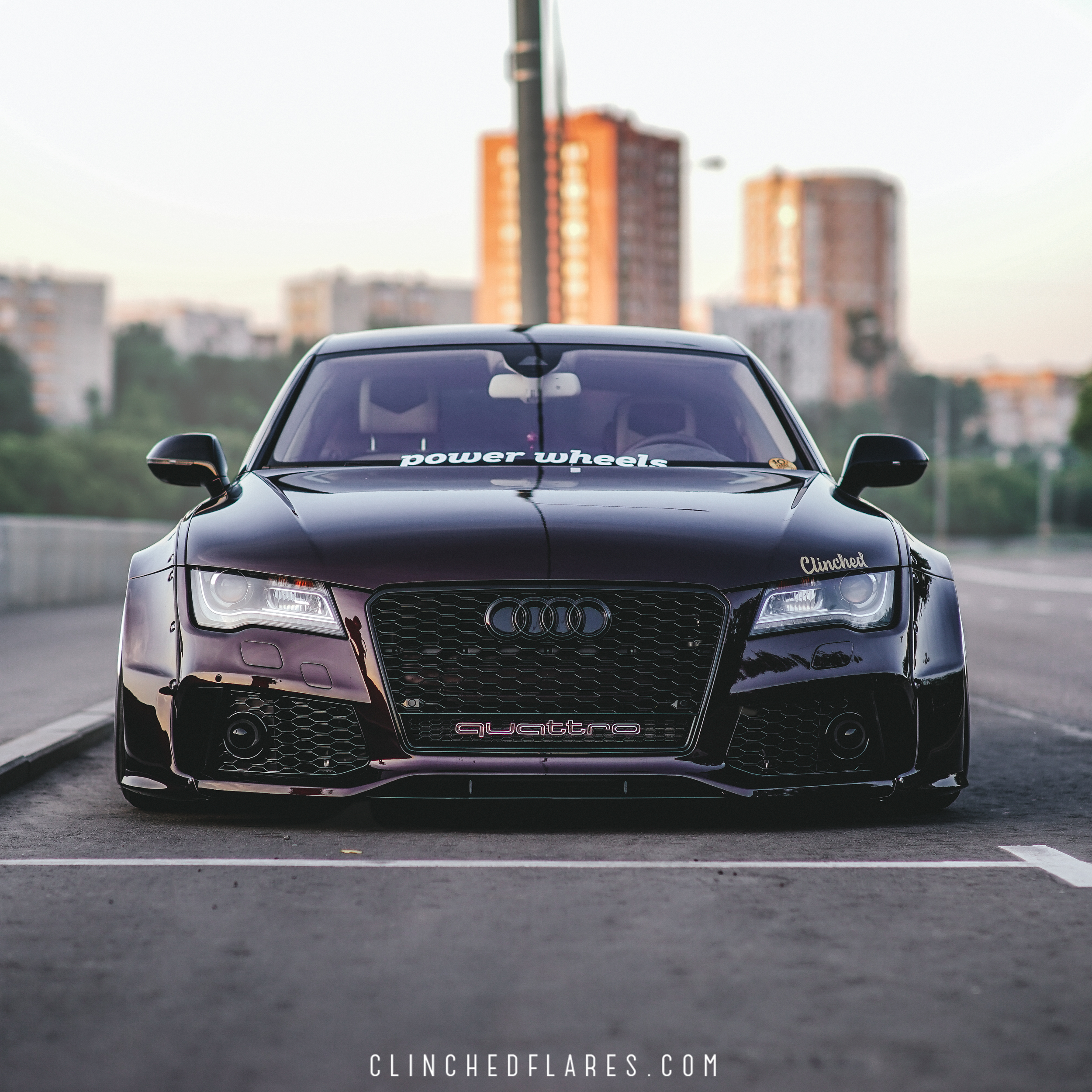 Audi A7 Widebody Kit by Clinched - fits A7, S7, RS7