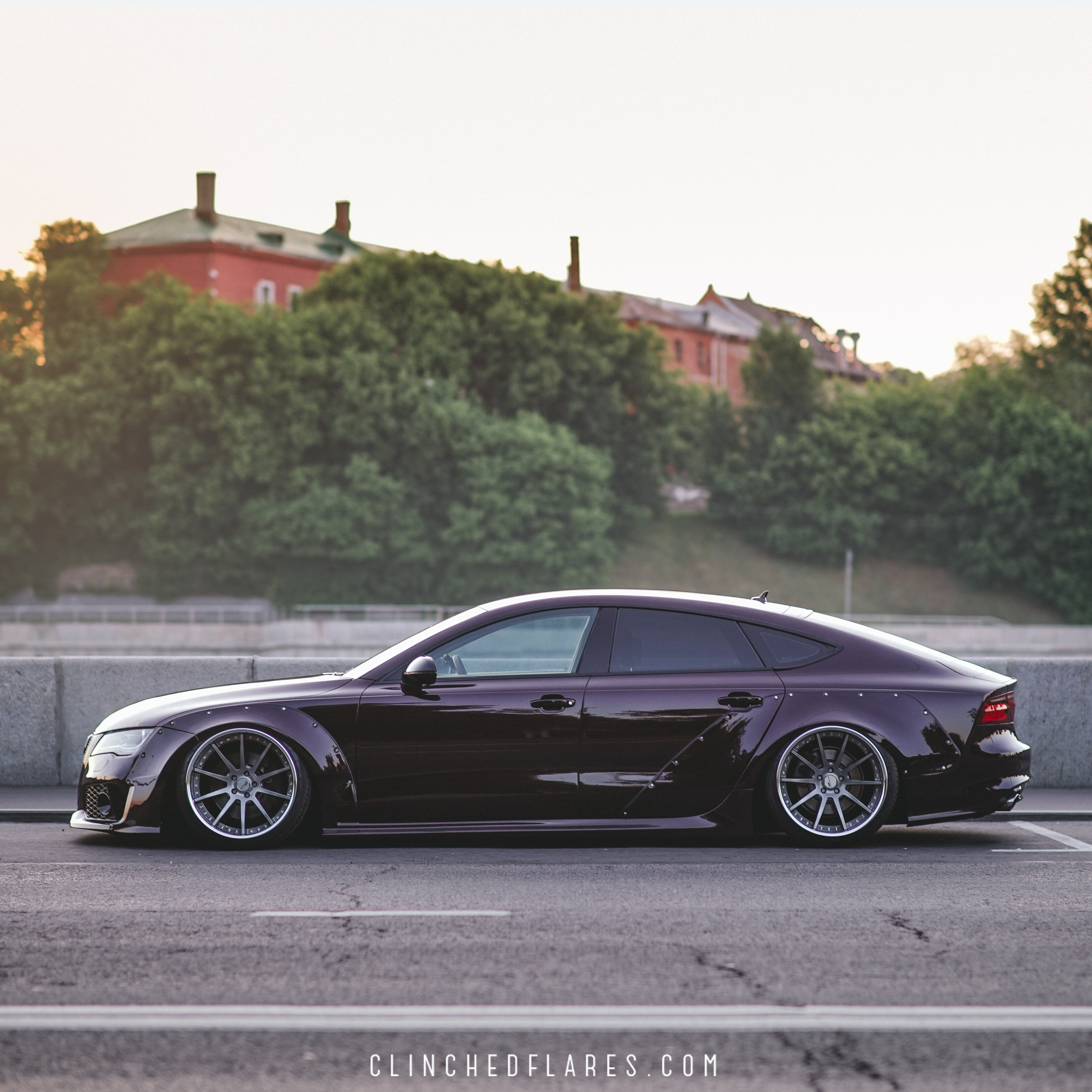 Audi A7 Widebody Kit By Clinched Fits A7 S7 Rs7