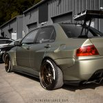 Mitsubishi Evolution widebody kit 10