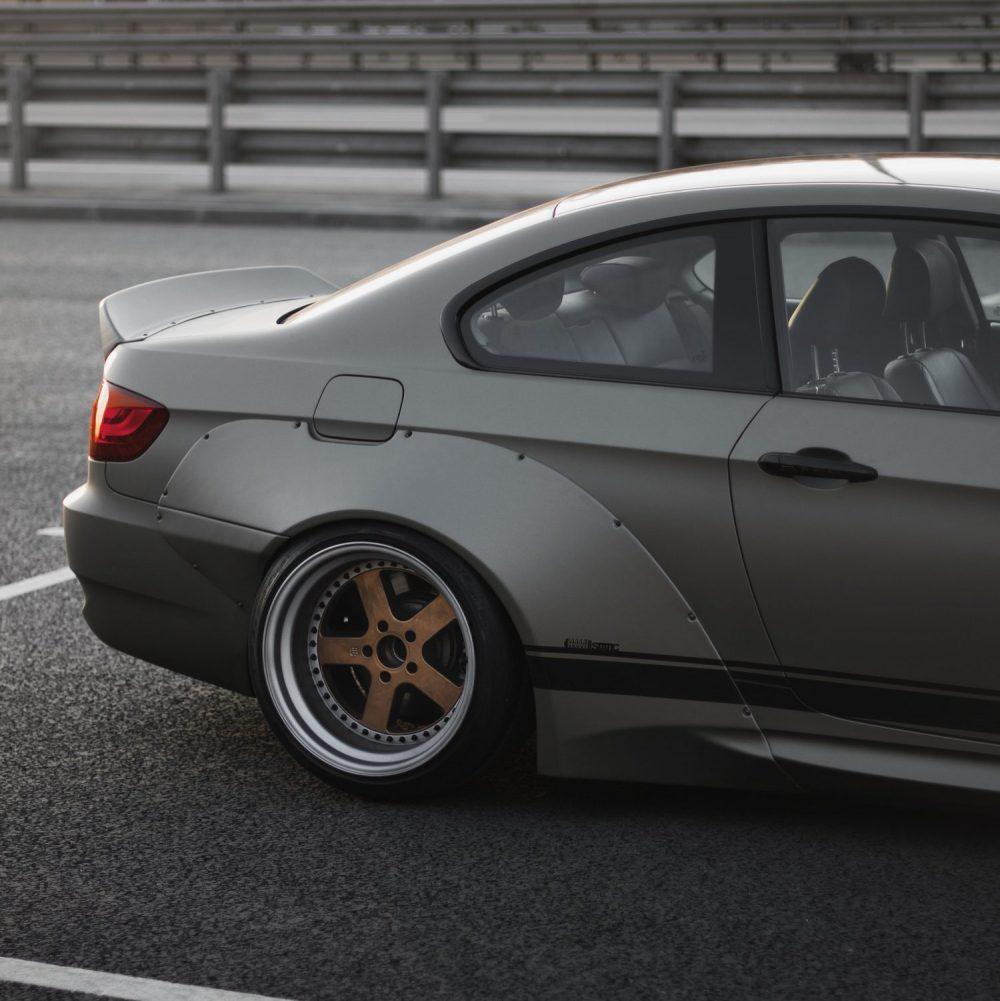 BMW E92 ducktail spoiler 3