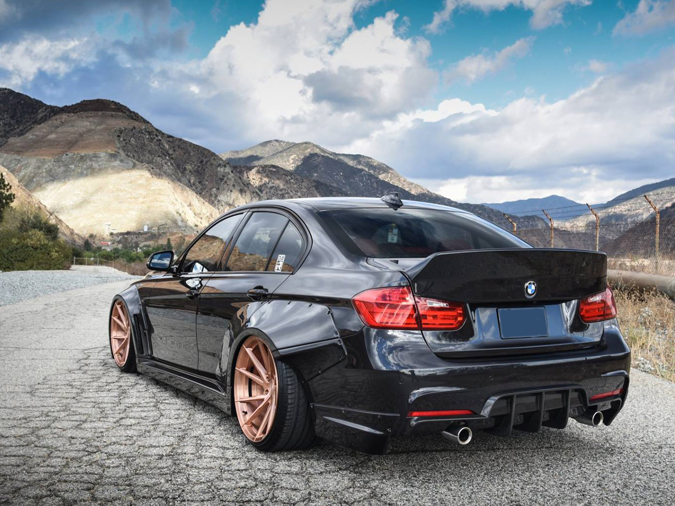 Bmw 3 Series F30 Ducktail Spoiler By Clinched Flares