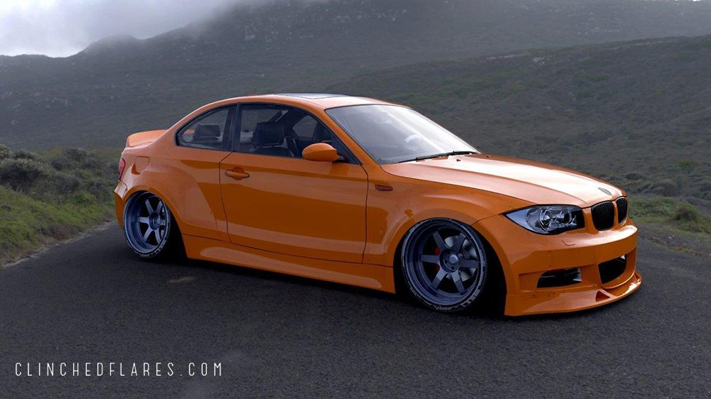Clinched BMW E82 widebody kit