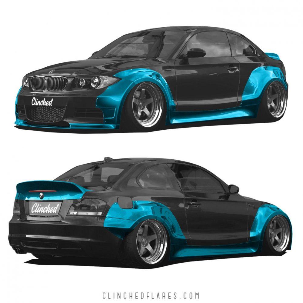 BMW E82 widebody kit