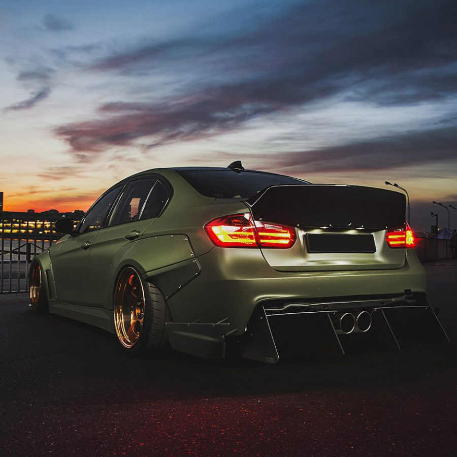 BMW F30 Widebody Kit 9