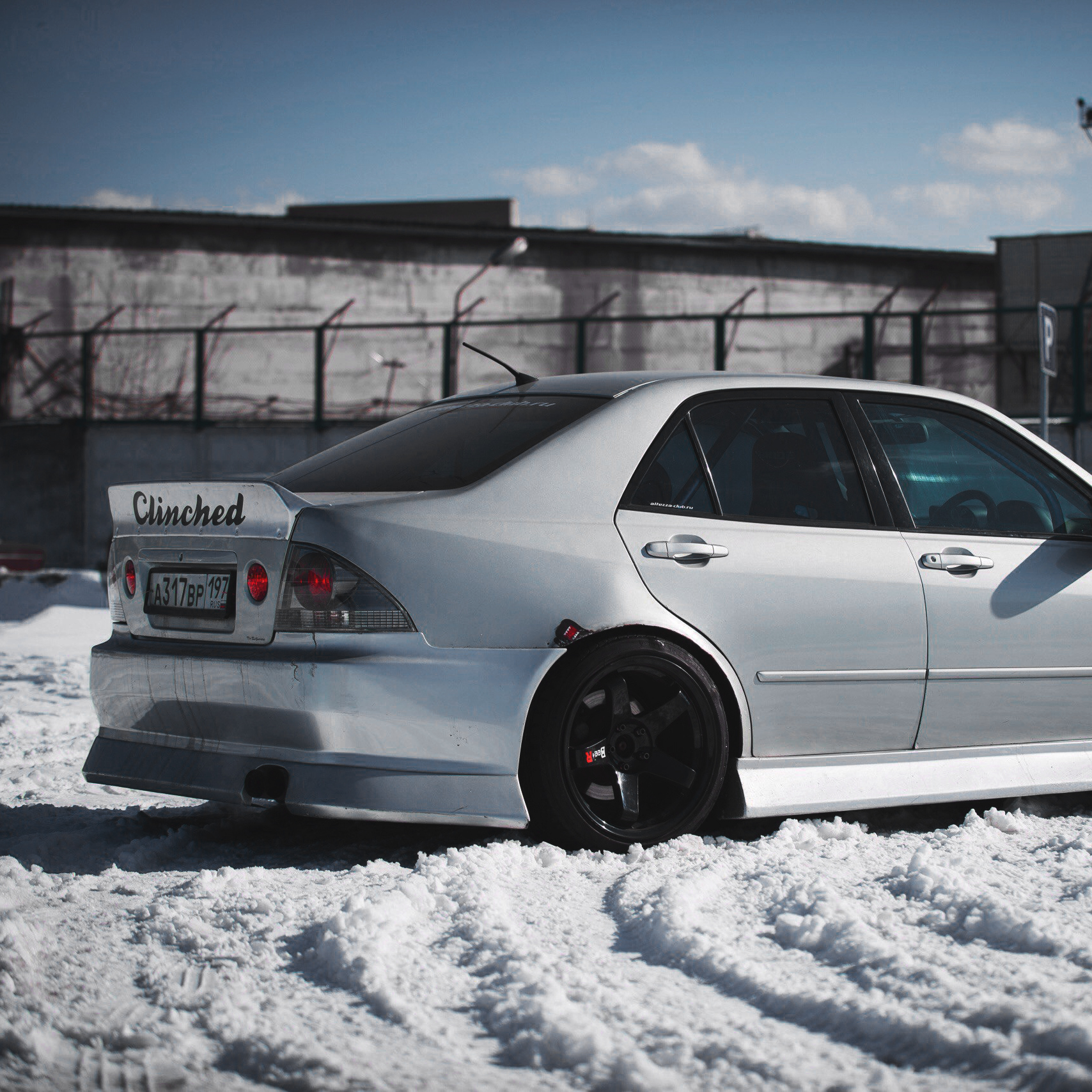 Lexus Altezza: Lexus IS300 Ducktail Spoiler By Clinched Flares