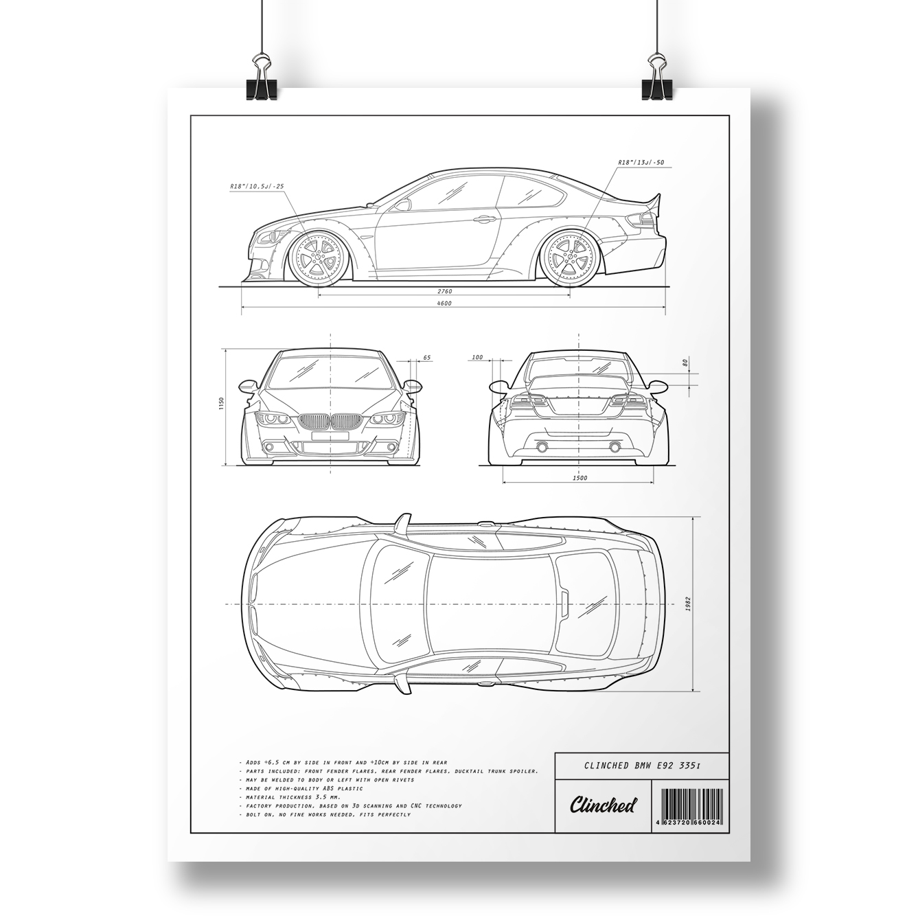 Bmw e92 art print clinched flares and widebody kits malvernweather Gallery