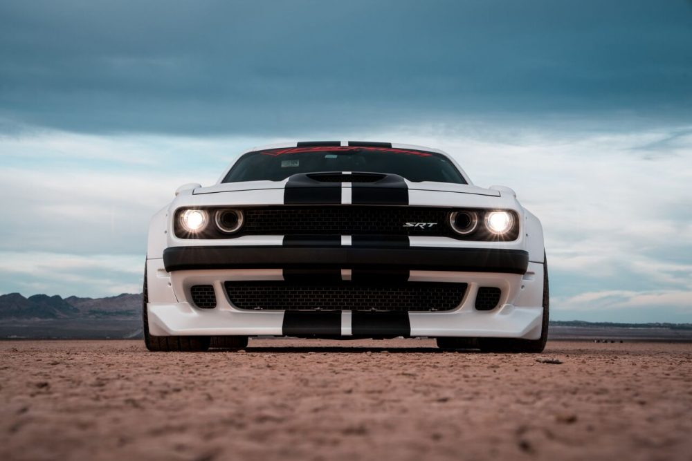 Clinched Dodge Challenger