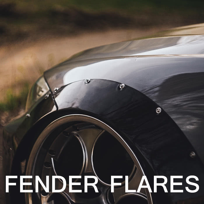 Fender Flares Widebody Kits Ducktail Spoilers Clinched Flares